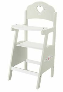 Chad Valley Babies to Love Wooden Doll's Highchair Is Made Of A Quality Solid
