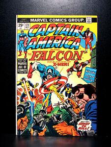 COMICS-Marvel-Captain-America-173-1974-X-Men-app-RARE