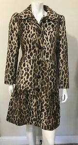 Charles-Gray-London-Faux-Fur-Cheetah-Leopard-Print-Fit-amp-Flare-Jacket-Coat-Sz-L