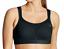 Champion-Black-039-The-Spot-Comfort-039-Sports-Bra-Women-039-s-Size-36C-68018 thumbnail 2