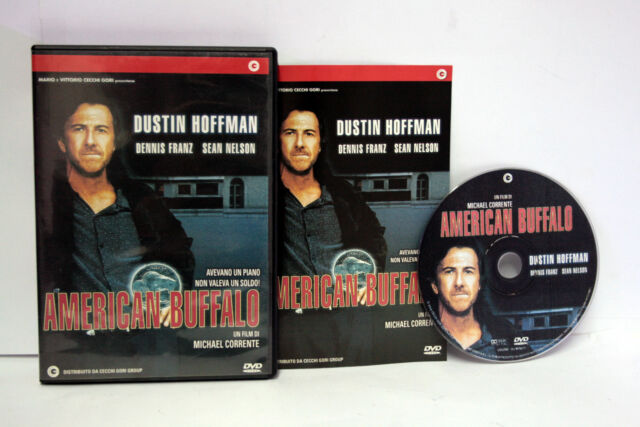 AMERICAN BUFFALO DUSTIN HOFFMAN MICHAEL CORRENTE FILM DVD OTTIMO FR1 65862