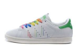 100% authentic bbbce da9d7 Image is loading Adidas-Originals-Men-039-s-Stan-Smith-Pride-