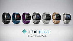 Flash-SALE-Fitbit-Blaze-Smart-Fitness-Super-Watch-Black-Blue-Plume-Small-amp-Large