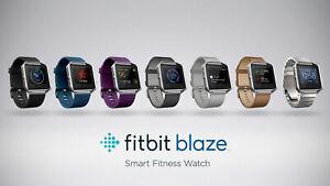 Fitbit-Blaze-Smart-Fitness-Super-Montre-Bleu-Noir-Plume-Petit-et-grand