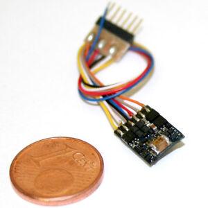 ESU-54687-LokPilot-micro-V4-0-MM-DCC-SX-6-pol-NEM-651-mit-Kabel-NEU-OVP