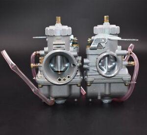 Pair Carburetor For Honda CB350 CB350G CB360 CB360G CB360T CL350 From CA