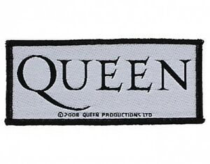 QUEEN-logo-2008-WOVEN-SEW-ON-PATCH-official-merchandise-no-longer-made