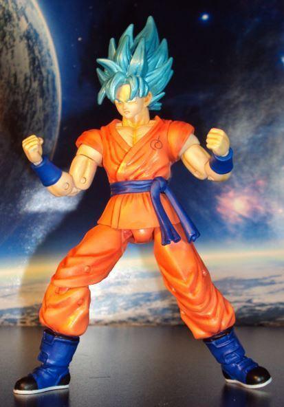 Bandai Dragon Ball Super Dragon Stars S S bluee Goku Action Figure BAF Zamasu '17
