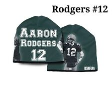 Aaron Rodgers #12 Green Bay Packers 2015 NFL Player All Weather Stretch Beanie