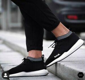 BALR. Black EE Premium Sock Sneakers