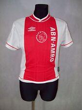 Ajax Amsterdam 1999 2000 152cm! Umbro Home Shirt jersey rare V.Good CONDITION