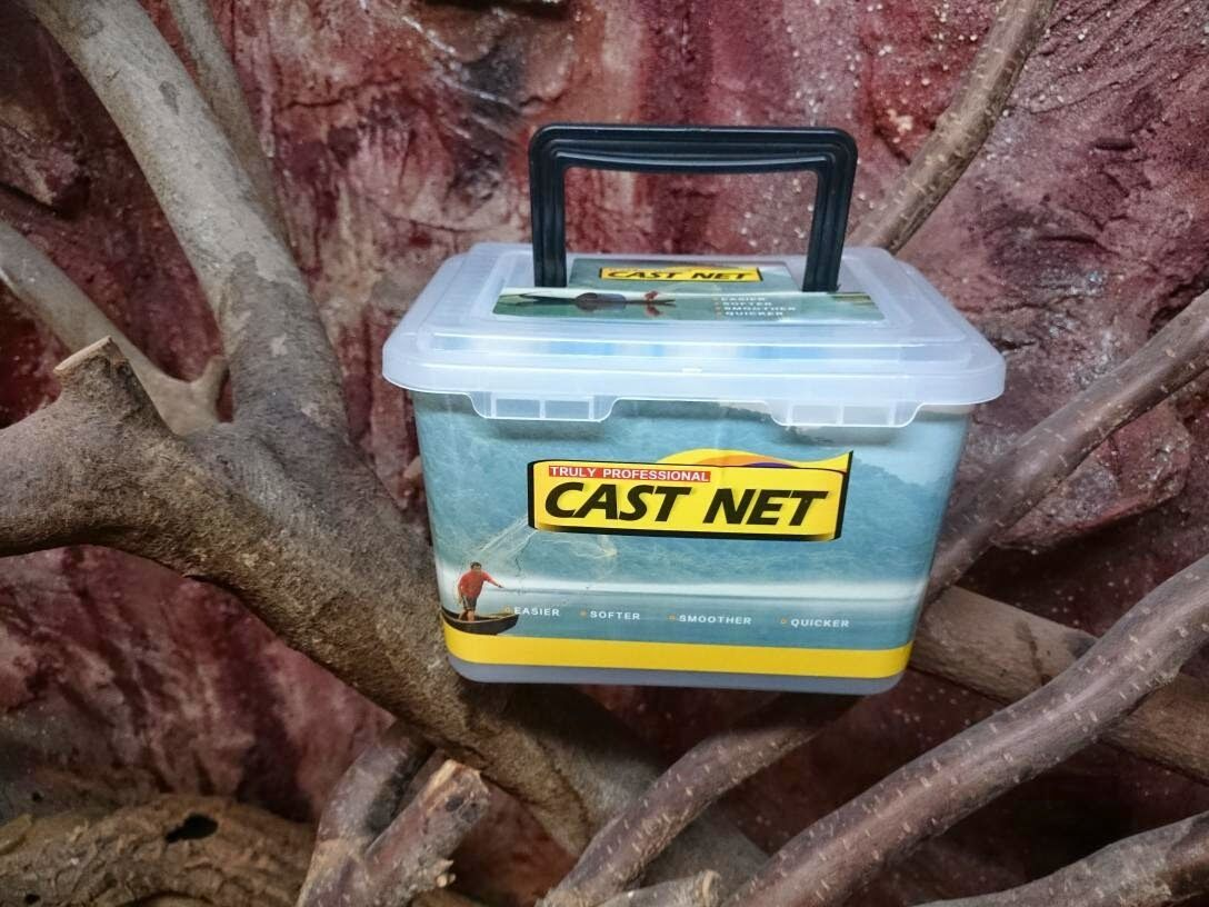 N. 4, rete antitalpa. rete di pesce, rete da pesca, kastingnetz, XL DIAM .3,66m, Professionale Rete antitalpe