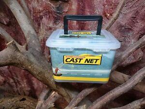 Wurfnetz.fischnetz,fischernetz,kastingnetz,xl Durchm.3,66m Realistisch Nr.4 profi Wurfnetz