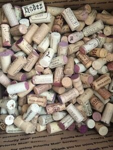 500 used wine corks, FREE domestic ship all natural cork from red & white wines