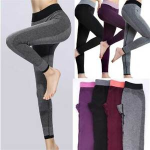 Womens-High-Waist-Yoga-Gym-Leggings-Fitness-Sports-Running-Jogging-Stretch-Pants