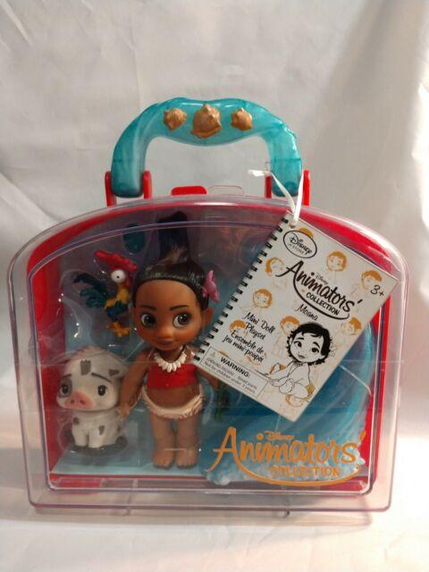 Disney Animators Collection Moana Mini Doll Play Set 5 Inch For Sale Online Ebay