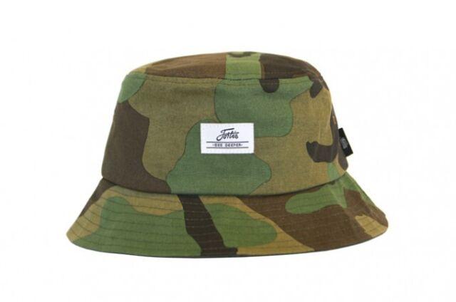 b22263e41fa Fortis Bucket Hat S-M Reversible Camo Green - BHR01 NEW Carp Fishing