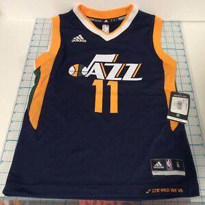 separation shoes b4d89 ec011 Details about ADIDAS Utah Jazz Youth EXUM No. 11 Official NBA Jersey Size S  NEW NWT