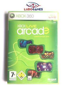 Xbox-Live-Arcade-Xbox-360-Nuevo-Precintado-Retro-Videojuego-Sealed-New-PAL-SPA