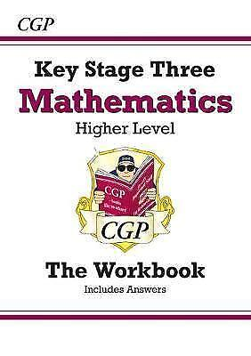 1 of 1 - KS3 Maths Workbook (with answers) - Higher: Workbook and Answers Multipack *New*
