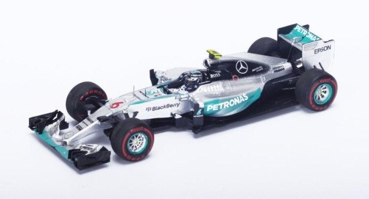 2015 Mercedes F1 W06 Mercedes Nico Rosberg by Spark Diecast Model