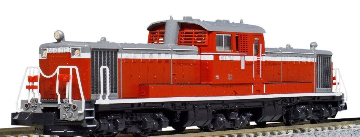 Kato 7008-8 Jr Locomotora Diesel Tipo DD51-500 frío regiones 3 Luces Escala N