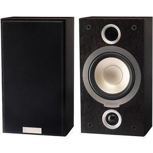 TANNOY-MERCURY-VR-surround-bookshelf-speakers-Dark-Walnut-pair