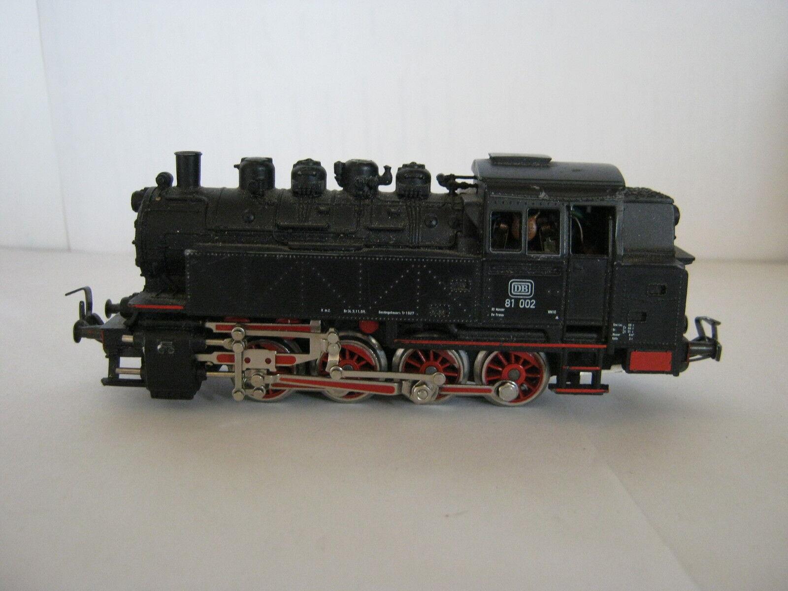 Digital Märklin HO Steam Locomotive btrnr 81 002 DB (rg bc 45r2f5-1)