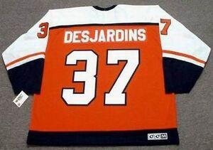 e5e17d415 Image is loading ERIC-DESJARDINS-Philadelphia-Flyers-1997-CCM-Throwback -Away-