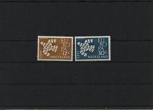 Cept-Europe-Pays-Bas-1961-Mi-765-766-Neuf-MNH-Communaute