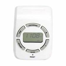7 Day Digital Programmable Program Wall Electric Timer Switch Outlet