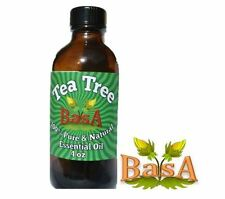 4 fl oz Tea Tree Essential Oil (100% Pure & Natural) Basa Oils - Free shipping