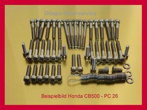 Honda CB 500 CB500 Four V2A Schrauben Edelstahlschrauben Vergaserschrauben