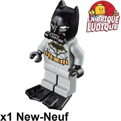 Figurine Minifig Super heroes justice league Batman gris sh458 76097 NEUF Lego