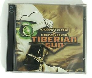 Command-and-Conquer-Tiberian-Sun-2-Disc-PC-Game-In-Case-Westwood-Studio-CD-ROM