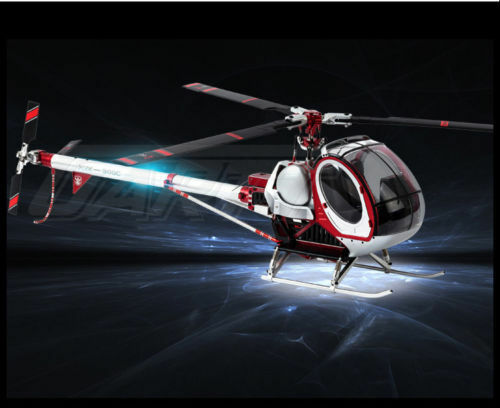 RC Schweizer 300C rosso Helicopter All Accessories Section 300C Replacement Parts