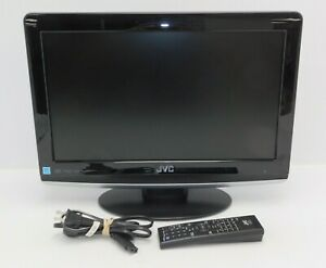 JVC LT-19D210 19 Inch LCD TV / DVD Player PC Monitor HDMI w/Factory Remote Works