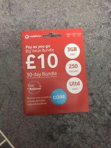 Vodafone Easy Number PAYG SIM Card Memorable Number ...