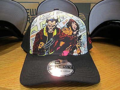 Wolverine X-Men Marvel Comics New Era Hat 39Forty Stretch Fit MED-LG NWT 0307