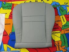 2005 06 Dodge Ram 1500  2500 Laramie  Driver side Bottom Leather Seat cover GRAY