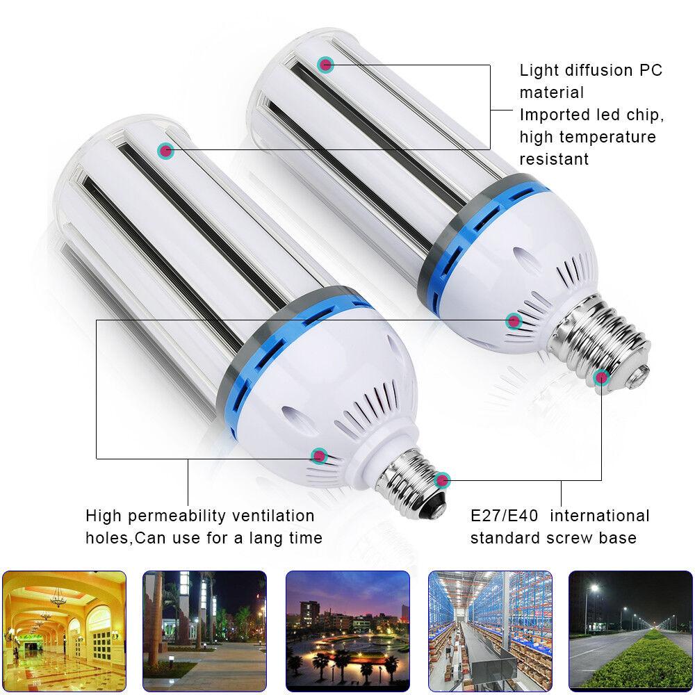 DE 35W 65W 100W 120W 140W E40 E27 LED Birne Maislampe Leuchtmittel Licht 6500K