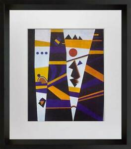 Wassily KANDINSKY Lithograph Limited Edition 1965 + Custom Archival FRAMING