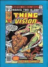 Marvel Two-In-One #39 The Thing Vision May 1978 Comic