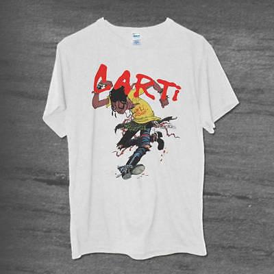 Playboi Carti Hip hop Rap tee GILDAN Tour White Circle Jerk Inspired T-shirt