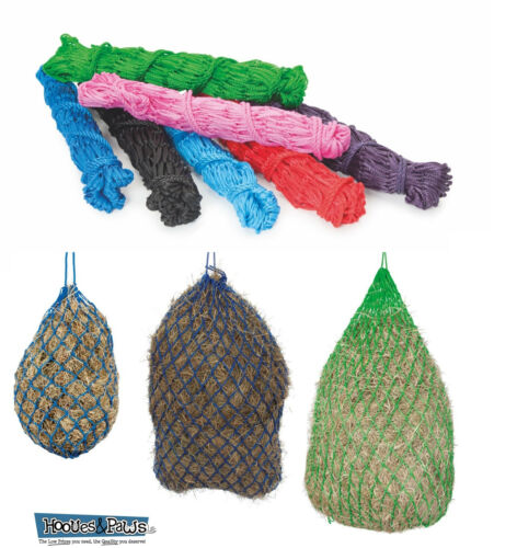 """Shires Heavy Duty Horse Hay Net 50/"""" or 40/"""" With 2/"""" Mesh Holes Haylage Feeder"""