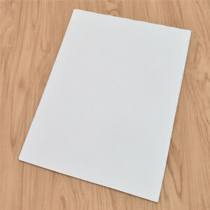 Fuer-Tintenstrahldrucker-A4-Leere-Klebefolie-Selbstklebendes-Papier-20x-Beste-Neu