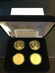 2010-US-MINT-GOLD-PRESIDENTIAL-1-DOLLAR-4-COINS-SET-WITH-BOX-Certified