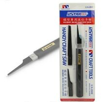 GJQG05 U-STAR Mini Razor Saw Handy Craft Saw Model Tools NEW