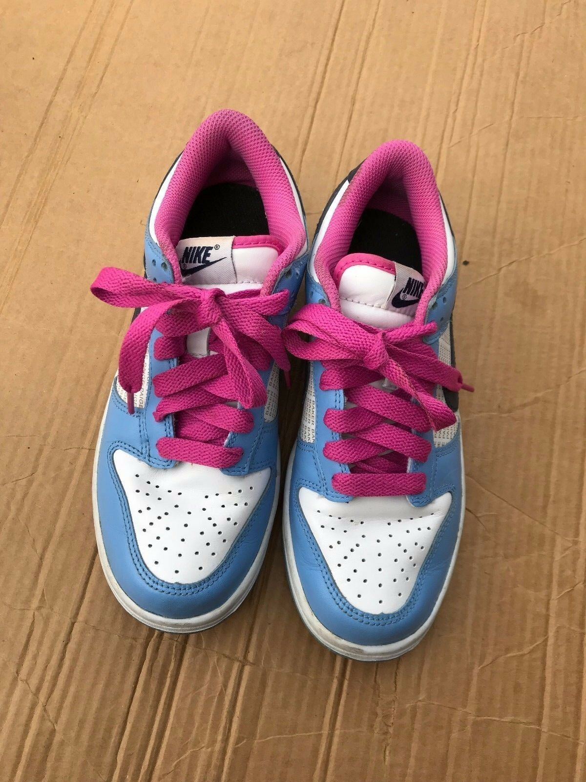 Nike Womens Sneakers Shoes Size 6.5M  Pink Blue Blue Blue White 55a7b0