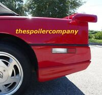 For 1984-1996 Chevy Corvette C4 Pre-painted greenwood-style Rear Spoiler Wing